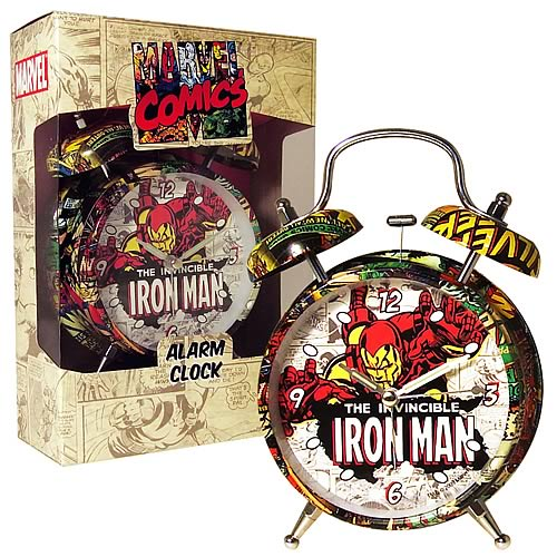 Marvel Retro Collection Iron Man Alarm Clock