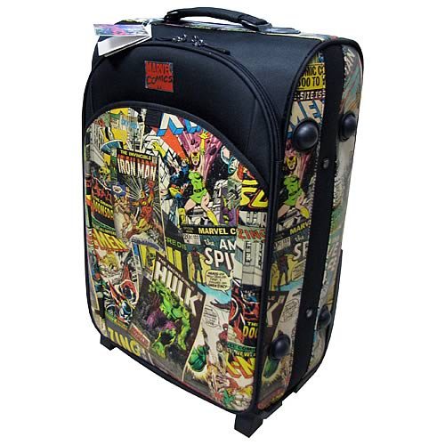 Marvel Retro Collection Rolling Suitcase