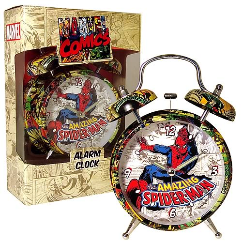 Marvel Retro Collection Spider-Man Alarm Clock