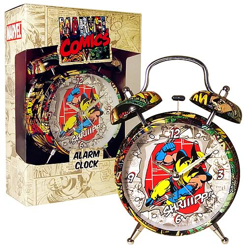 Marvel Retro Collection Wolverine Alarm Clock