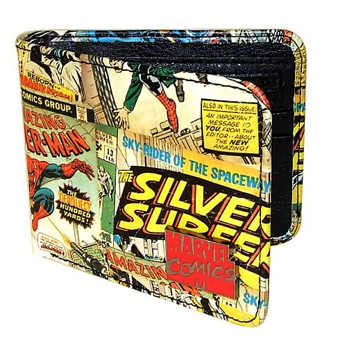 Marvel Retro Collection Printed Wallet