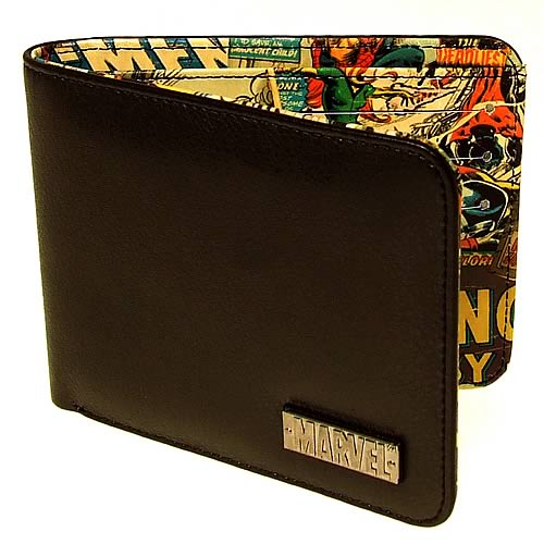 Marvel Retro Collection Black Wallet