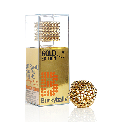Buckyballs Gold Edition Magnetic Toy