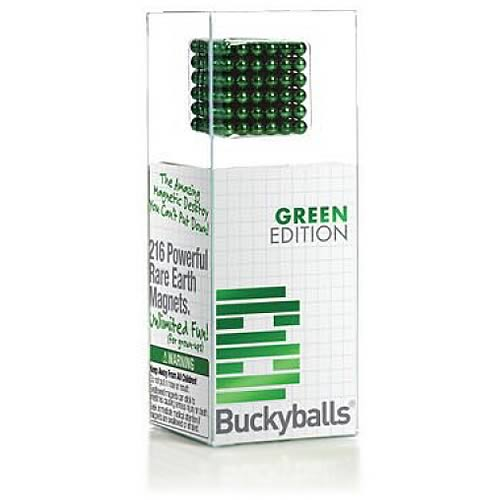 Buckyballs Green Chromatics 125 Piece Edition Magnetic Toy