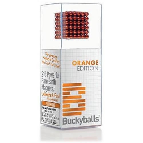 Buckyballs Orange Chromatics 125 Piece Edition Magnetic Toy