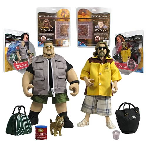 Big Lebowski Urban Achiever 8-Inch Figures Wave 1