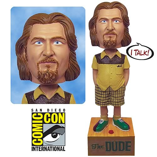 Comic-Con Pickup EE Exclusive Big Lebowski Talking Bobble