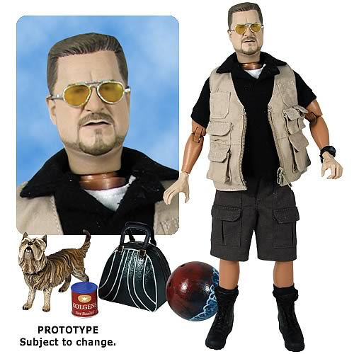 Big Lebowski Walter PG-Rated Talking 12-Inch Action Figure