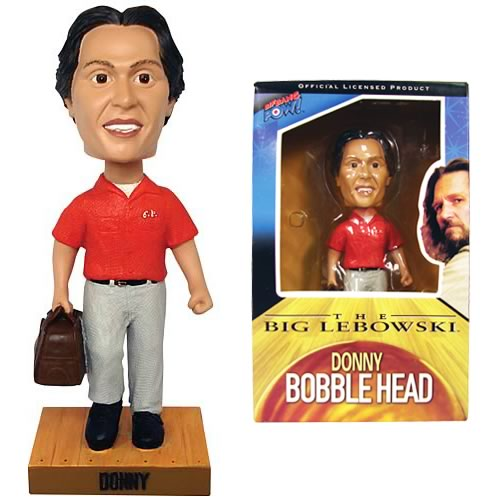 The Big Lebowski Donny Bobble Head, Not Mint