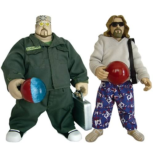 The Big Lebowski Urban Achiever 8-Inch Figures Series 2 Set