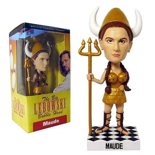 The Big Lebowski Maude (Bowling Viking) Bobble Head