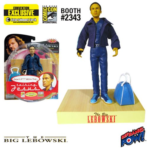 The Big Lebowski Talking Jesus Action Figure - Con. Excl.