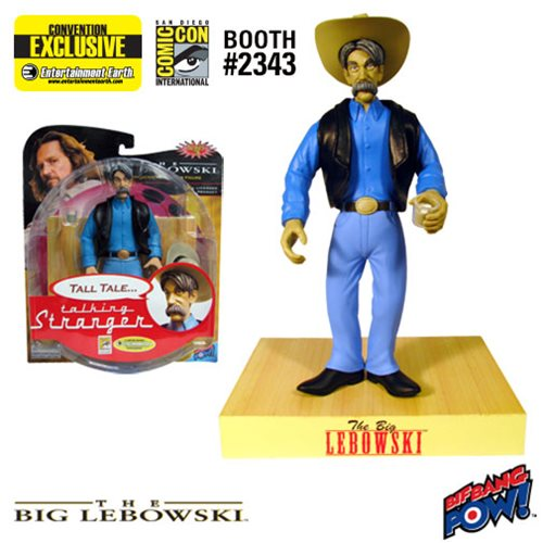 The Big Lebowski Talking The Stranger Figure - Con. Excl.