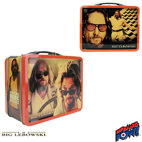 The Big Lebowski The Dude Abides Tin Tote