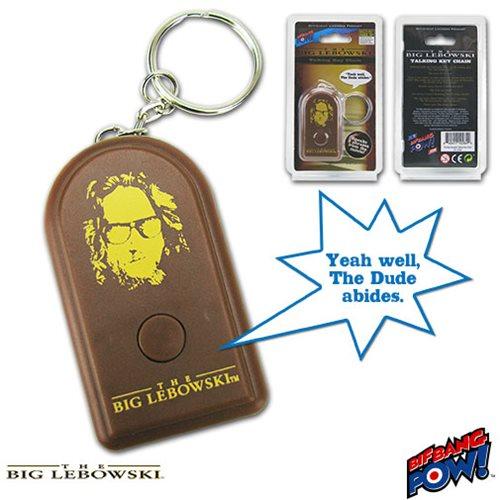 The Big Lebowski Talking Key Chain