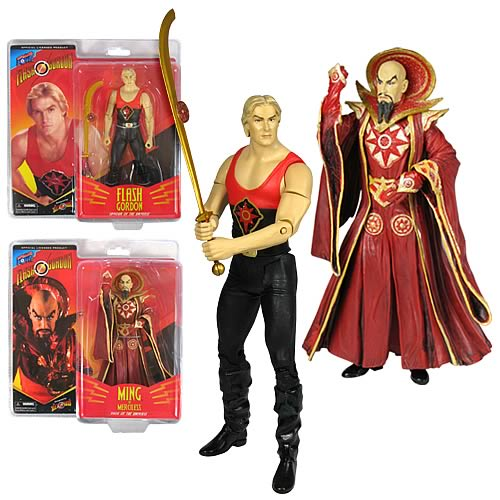 Alex Ross Flash Gordon Movie 7-Inch Figures Wave 1 Set