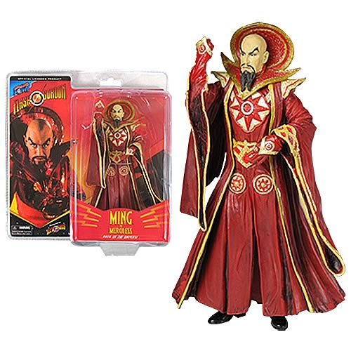 Alex Ross Flash Gordon 7-Inch Emperor Ming (Red)