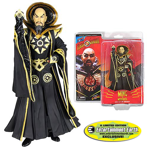 Alex Ross Flash Gordon 7-Inch Ming (Black) - an EE Exclusive