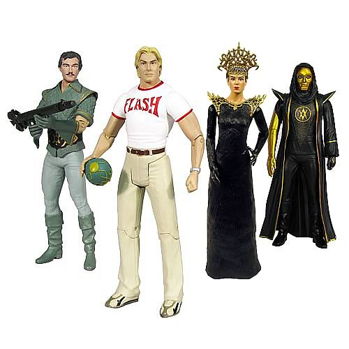 Alex Ross Flash Gordon Movie 7-Inch Figures Series 2 Set