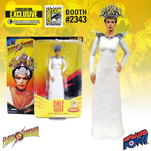 Alex Ross Flash Gordon Dale White Gown Figure - Con. Excl.