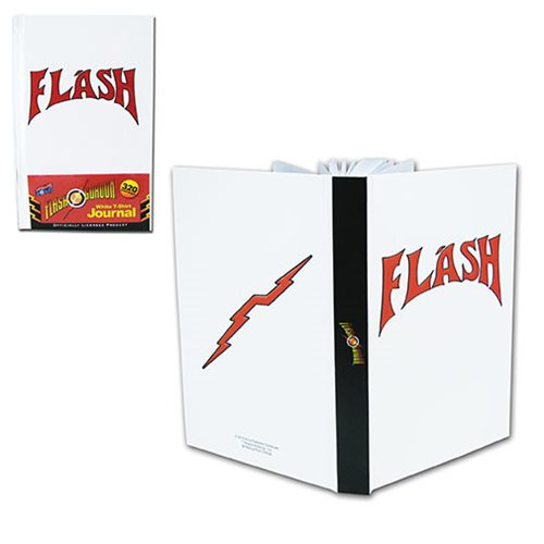 Flash Gordon White T-Shirt Style Journal