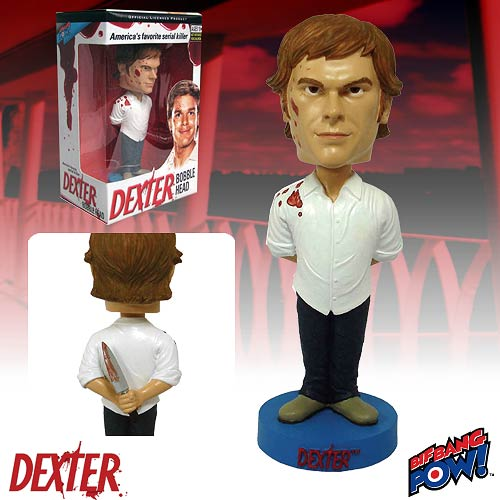Dexter Bobble Head (White T-Shirt), Not Mint