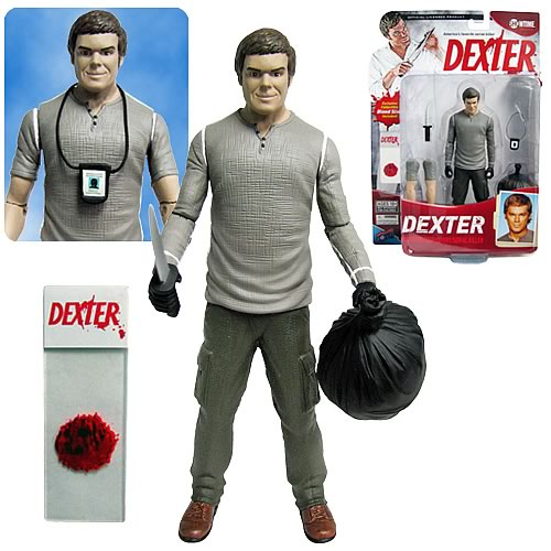 Dexter 7-Inch Action Figure, Not Mint