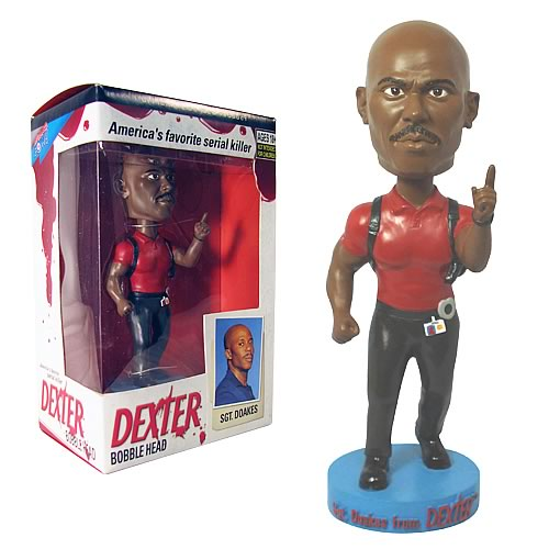 Dexter Sgt. Doakes Bobble Head