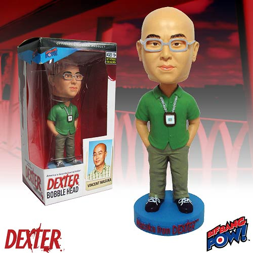 Dexter Vincent Masuka Bobble Head