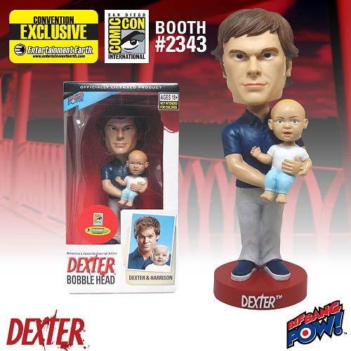 Dexter and Harrison Bobble Head - SDCC Exclusive