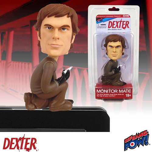 Dexter Morgan Monitor Mate Bobble Head