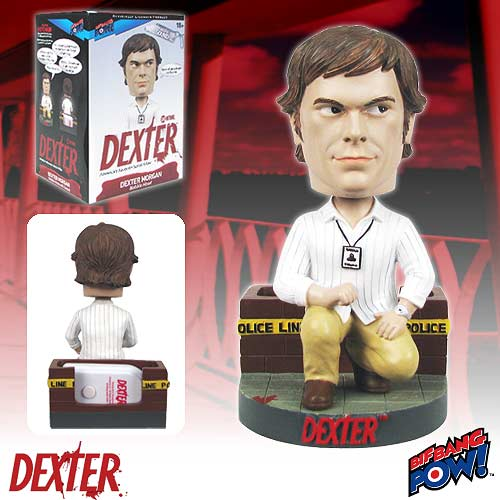 Dexter Morgan Bobble Head with Sound