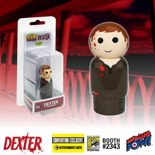 Dexter Pin Mate Wooden Figure - Convention Exclusive