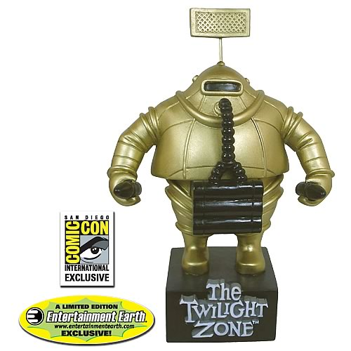 The Twilight Zone Invader Bobble Head - Color SDCC Exclusive