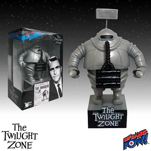 The Twilight Zone Invader Bobble Head, Not Mint