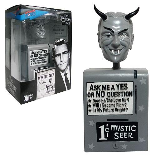 The Twilight Zone Mystic Seer Bobble Head, Not Mint