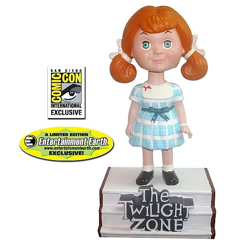 Twilight Zone Talky Tina Bobble Head - Color SDCC Exclusive