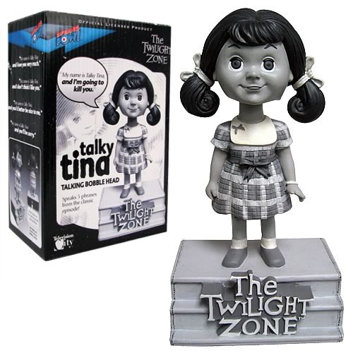 The Twilight Zone Talky Tina Talking Bobble Head