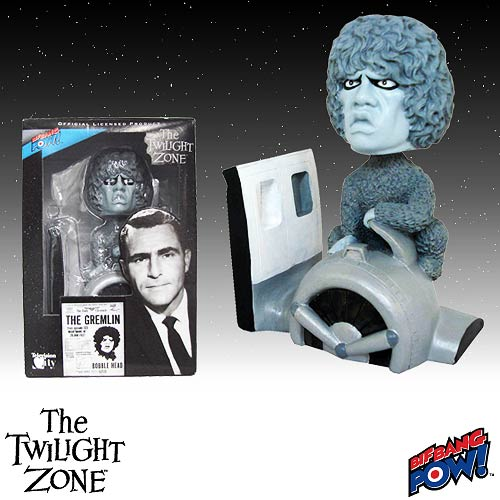 The Twilight Zone Gremlin Bobble Head, Not Mint