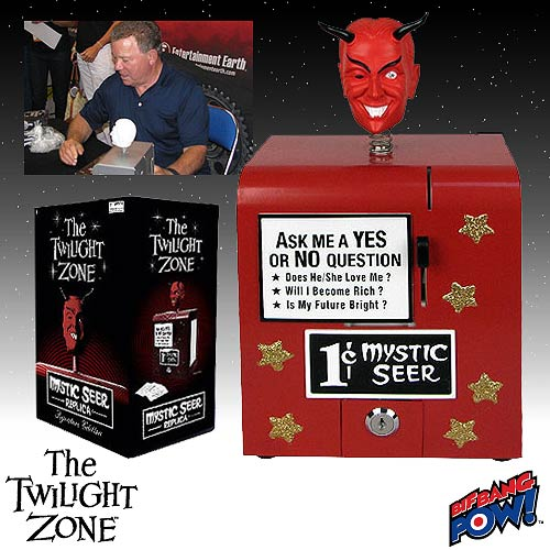 Twilight Zone Mystic Seer Replica - Red Signature Edition