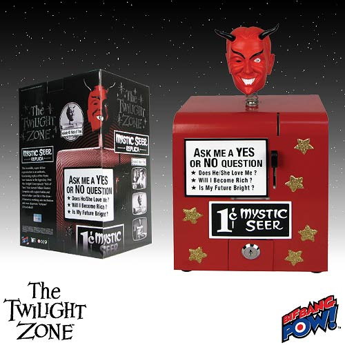 The Twilight Zone Mystic Seer Replica - Red Head