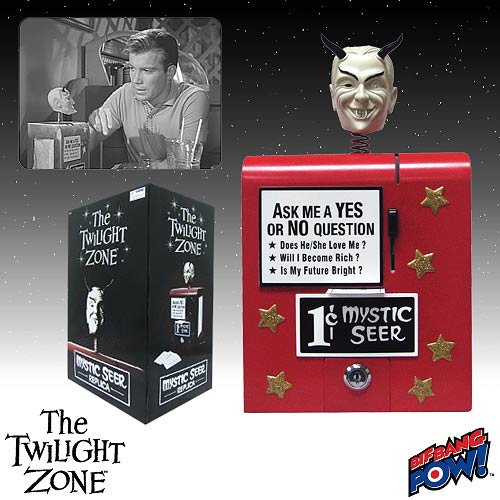 The Twilight Zone Mystic Seer Replica - Cream Head