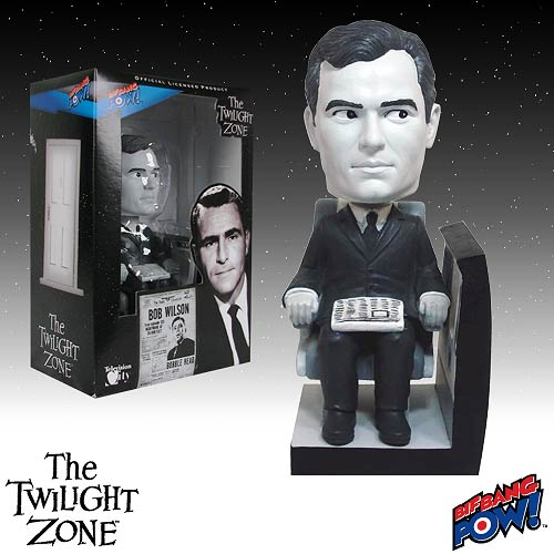 The Twilight Zone Bob Wilson Bobble Head