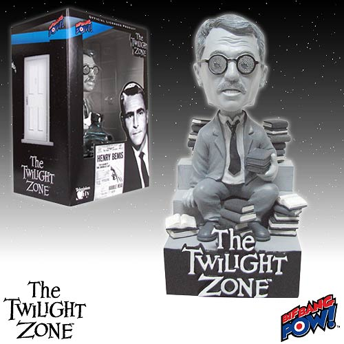 The Twilight Zone Henry Bemis Bobble Head