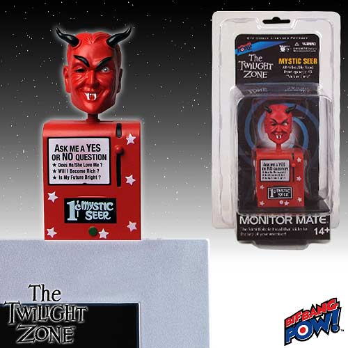Twilight Zone Mystic Seer Monitor Mate Bobble Head - Red
