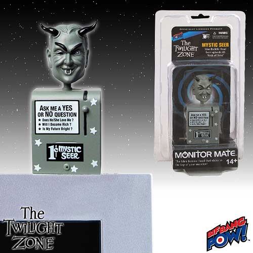 The Twilight Zone Mystic Seer Monitor Mate Bobble Head