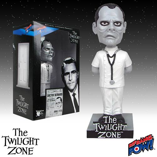 The Twilight Zone Doctor Bernardi Bobble Head