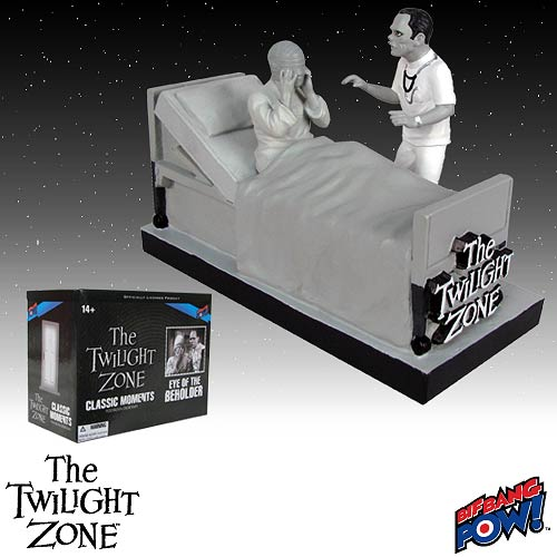 The Twilight Zone Eye of the Beholder Diorama