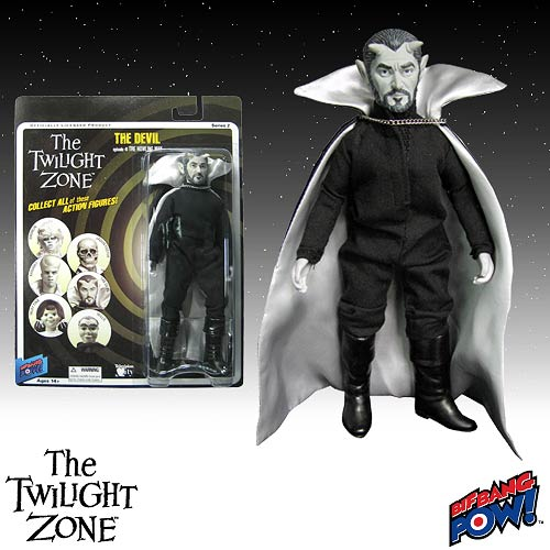 The Twilight Zone The Devil 8-Inch Action Figure