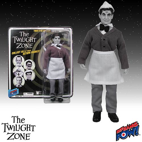 The Twilight Zone Series 5 Three-Eyed Venusian 8-Inch Figure